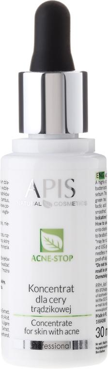 Koncentrat do cery trądzikowej - APIS Professional Acne-Stop