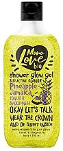 Kup Wygładzający żel pod prysznic - MonoLove Bio Pineapple-Jamaica Tonus&Smoothness