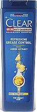 Kup Odświeżający szampon przeciwłupieżowy dla mężczyzn - Clear Vita Abe Men Antidandruff Shampoo With Citrus Essence