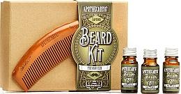 Kup Zestaw - Apothecary 87 Beard Kit (beard/oil 3 x 10ml + brush)