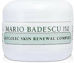 Kup Rewitalizujący krem do twarzy - Mario Badescu Glycolic Skin Renewal Complex