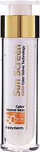 Kup Przeciwsłoneczny krem do twarzy - Frezyderm Sun Screen Color Velvet Face Cream SPF 50+