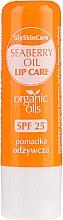 Kup Odżywczy balsam do ust z organicznym olejem z rokitnika SPF 25 - GlySkinCare