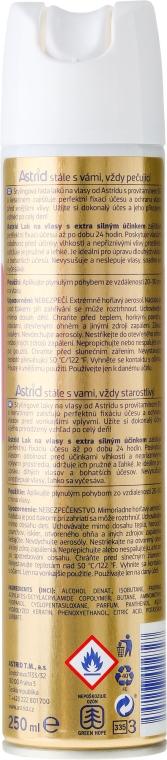 Ekstramocny lakier do włosów - Astrid Hairspray Extra Strong — фото N2