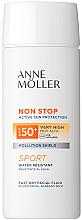 Kup PRZECENA! Fluid do twarzy z wysoką ochroną przeciwsłoneczną SPF 50+ - Anne Möller Non Stop Facial Fluid *