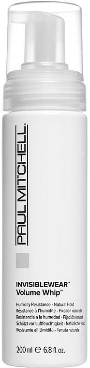 Lekka pianka do włosów, zwiększająca objętość - Paul Mitchell Invisiblewear Volume Whip — фото N1