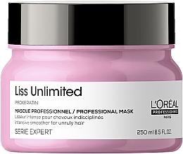 Kup Keratynowa maska do włosów suchych i nieposłusznych - L'Oreal Professionnel Liss Unlimited Prokeratin Masque New