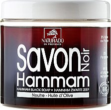 Kup Czarne mydło z oliwą z oliwek - Naturado Hammam Black Soap With Olive Oil
