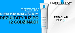 Krem korekcyjny do walki z niedoskonałościami skóry - La Roche-Posay Effaclar Duo+ — фото N16