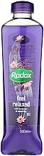 Kup Pianka do kąpieli Lawenda i lilia wodna - Radox Lavender & Waterlilly Bath Therapy