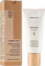 Kup Rozświetlający peeling do twarzy i ciała - Comfort Zone Sacred Nature Bio-Certified Gommage