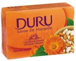 Kup Mydło kosmetyczne Nagietek i migdał - Duru Savon De Marseille Soap