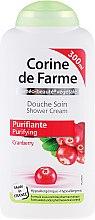 Kup Oczyszczający krem pod prysznic z żurawiną - Corine de Farme Shower Cream