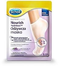 Kup Odżywcza maska do stóp z olejkiem lawendowym - Scholl Expert Care Foot Mask