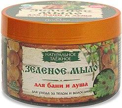 Kup Naturalne zielone mydło w formie żelowej pasty do pielęgnacji ciała i włosów - Floresan Soap