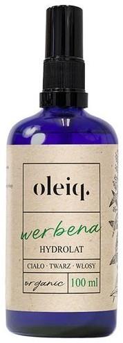 Hydrolat z werbeny do twarzy, ciała i włosów - Oleiq