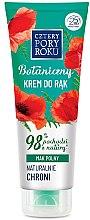 Kup Ochronny krem do rąk Mak polny - Cztery Pory Roku Botanical Protective Hand Cream