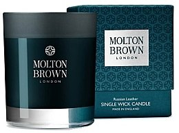 Kup Molton Brown Russian Leather Single Wick Candle - Świeca zapachowa
