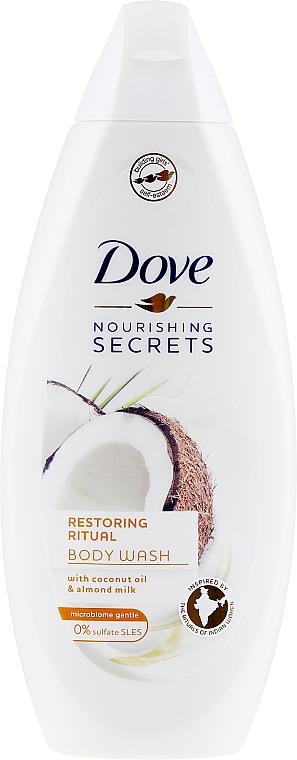 Odżywczy żel pod prysznic Kremowy kokos - Dove Nourishing Secrets Restoring Ritual Shower Gel
