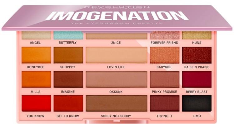 Paleta cieni do powiek - Makeup Revolution X Imogenation Eyeshadow Palette