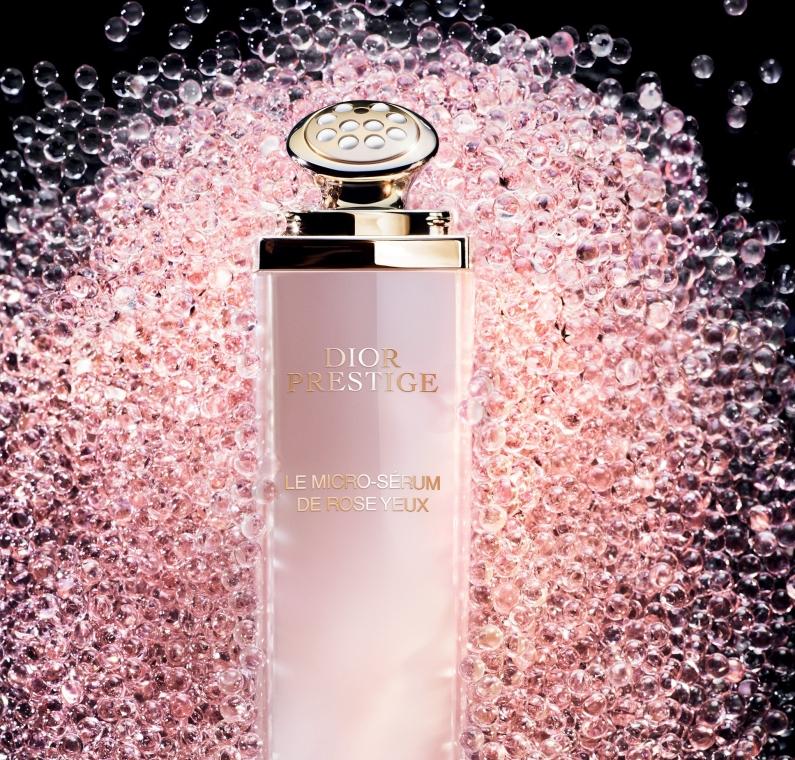 Różane serum do skóry wokół oczu - Dior Prestige Micro-Nutritive Rose Eye Serum — фото N3