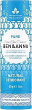 Kup Dezodorant na bazie sody (w tubce) - Ben & Anna Pure Natural Soda Deodorant Paper Tube
