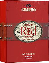 PRZECENA! El Charro Red - Zestaw (edp 100 ml + b/cr 100 ml + deo 100 ml) * — фото N4