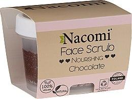 Kup Odżywczy peeling do twarzy i ust Czekolada - Nacomi Moisturizing Face&Lip Scrub Chocolate