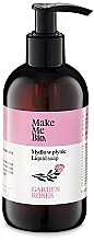 Kup Delikatne mydło w płynie z wodą różaną i olejami - Make Me Bio Garden Roses