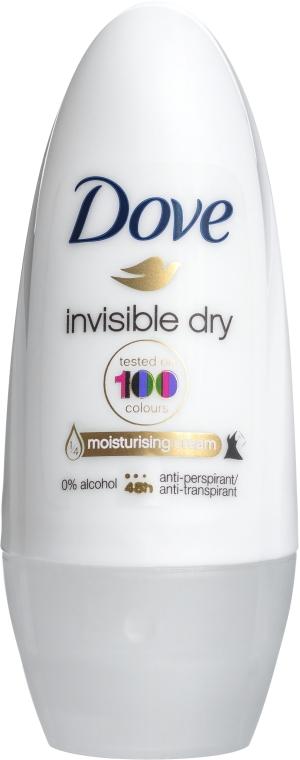Antyperspirant-dezodorant w kulce - Dove Invisible Dry 48H