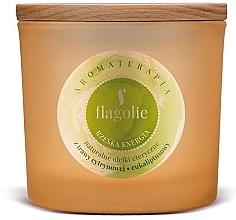 Kup Świeca zapachowa w szkle Rześka energia - Flagolie Fragranced Candle Right Energy