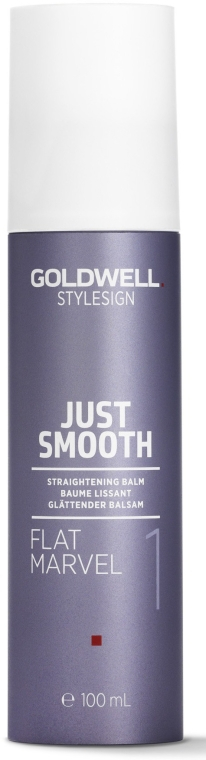 Balsam wygładzający do włosów - Goldwell StyleSign Just Smooth Flat Marvel Straightening Balm