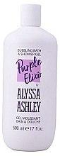 Kup Pobudzający żel pod prysznic Zielona herbata i opuncja - Alyssa Ashley Purple Elixir Bath And Shower Gel