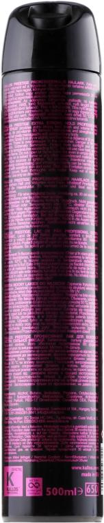 Lakier do włosów - Kallos Cosmetics Prestige Hair Spray Extra Strong — фото N2