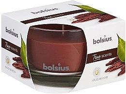 Kup Świeca zapachowa w szkle Drzewo agarowe, 63/90 mm - Bolsius True Scents Candle