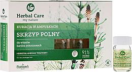 Kup PRZECENA! Kuracja w ampułkach do włosów bardzo zniszczonych Skrzyp polny - Farmona Herbal Care *