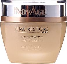 PRZECENA! Odmładzający krem do twarzy na noc - Oriflame NovAge Time Restore Regenerative Night Cream* — фото N2