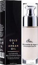 Kup Odmładzający krem pod oczy - Sayaz Cosmetics Gold Particles And Argan Oil Revitalizing Eye Cream