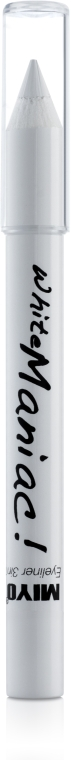 Kredka 3 w 1 do oczu - Miyo Eyeliner Whitemaniac — фото N1