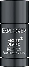 Kup Montblanc Explorer - Antyperspirant-dezodorant w sztyfcie