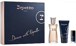 Kup Repetto Dance With Repetto - Zestaw (edp 60 ml + b/lot 50 ml + nail/polish 5 ml)
