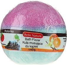 Kup Musująca kula do kąpieli, fioletowo-niebieska - Belle Nature