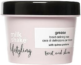 Kup Wosk do stylizacji włosów - Milk Shake Lifestyling Grease Braid Defining Wax