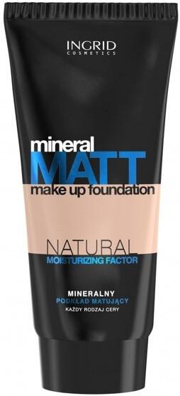 Mineralny podkład matujący - Ingrid Cosmetics Mineral Matt Make Up Foundation