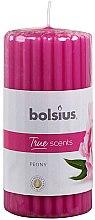 Kup Pieńkowa świeca zapachowa Piwonia, 120/58 mm - Bolsius True Scents Candle