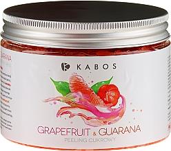 Kup Peeling cukrowy do ciała Grejpfrut i guarana - Kabos Grapefruit & Guarana