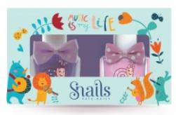 Zestaw lakierów do paznokci dla dzieci 2x10,5ml - Snails Mini Bebe Music Is My Life — фото N1