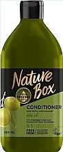 Kup Odżywka do włosów długich z oliwą z oliwek - Nature Box Conditioner Olive Oil