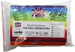 Kup Separatory do pedicure, 500 szt. - Ronney Professional Toe-Roll Sparators