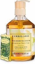 Kup Cytrusowe mydło w płynie - L'Erbolario Buonaschiuma Sapone di Marsiglia
